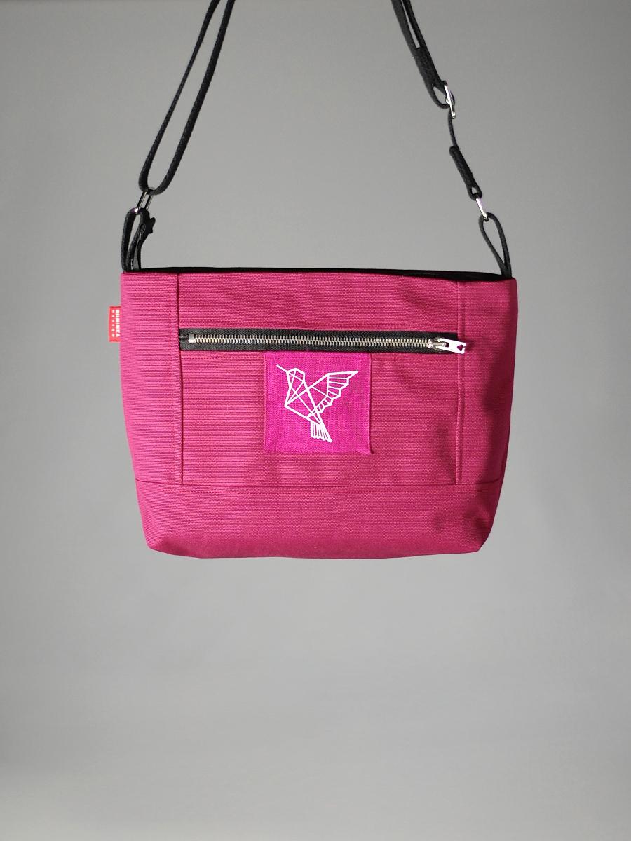 Pieni Adidas Laukku : Pieni mainio laukku vadelma riiminka