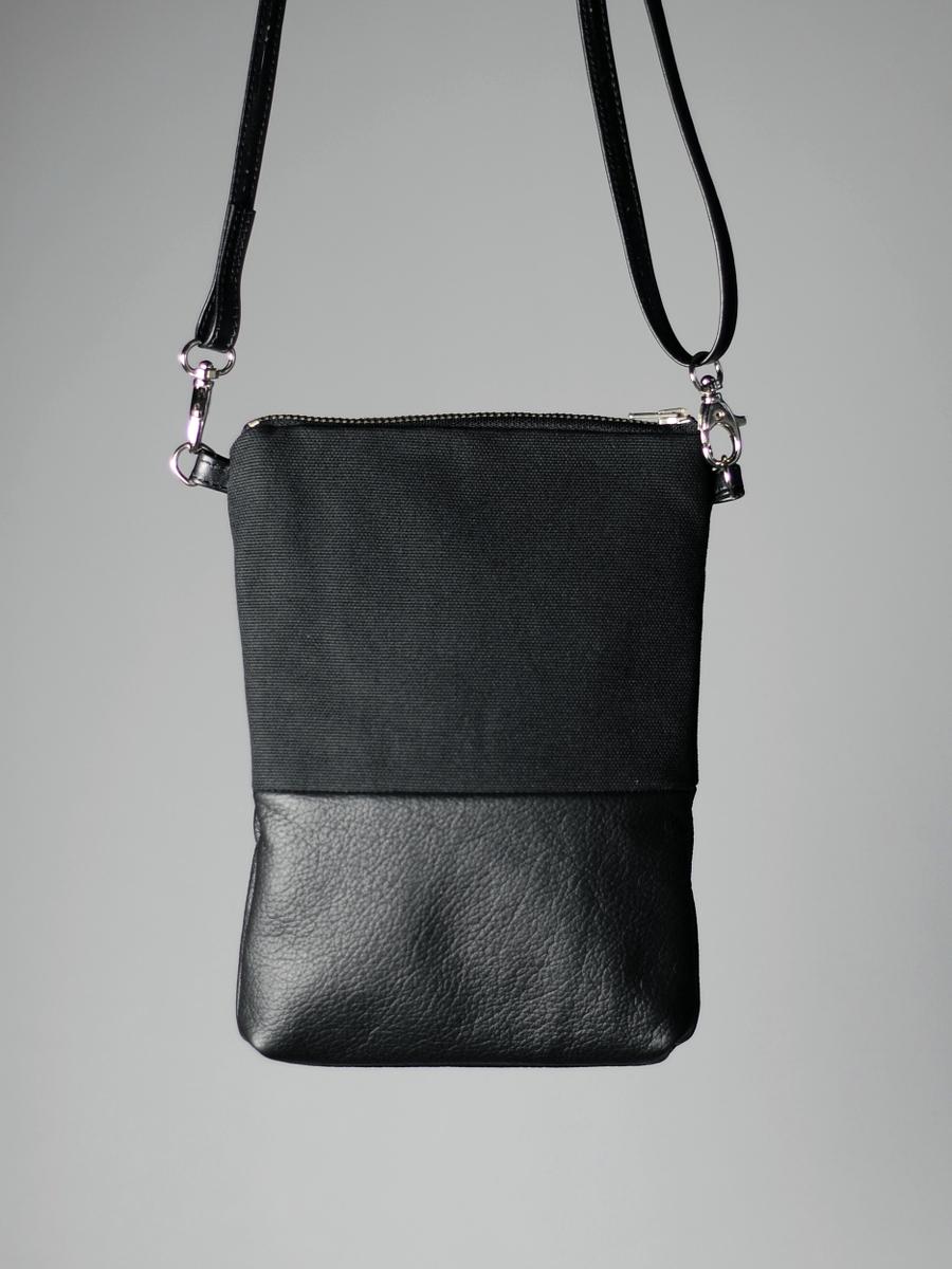 Musta Laukku Niiteillä : Pieni piilo laukku musta riiminka